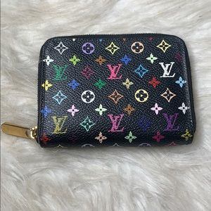 Authentic Louis Vuitton Murakami Zippy Wallet
